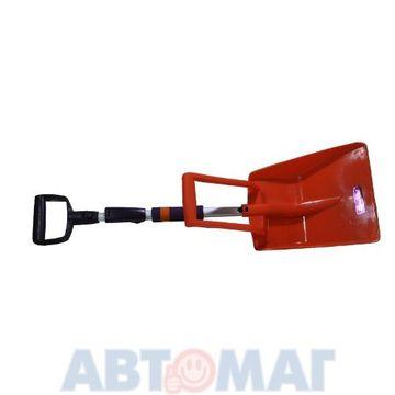 Лопата для уборки снега комбинированная  83см - 103см