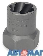 """Сменная головка-экстрактор  13/16"""" (21mm), приводной квадрат 1/2"""""""