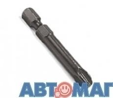 Насадка крестовая  PH.#0 для механизированного инструмента, длина 49мм
