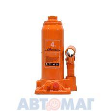 Домкрат телескопический бутылочный гидравлический АJ-TB-04 4 т