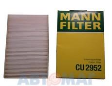 Фильтр салонный MANN CU 2952