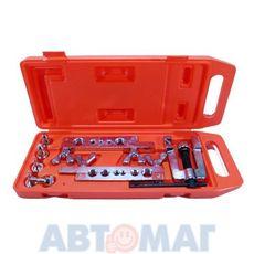 Приспособление для развальцовки трубок 8пр. АВТОДЕЛО 5-19мм пласт.кейс 40409 (i)