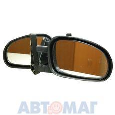 Зеркало ВАЗ 2101 на водосток овальное (к-т 2 шт.)