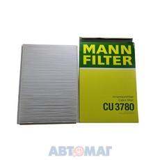 Фильтр салонный MANN CU 3780