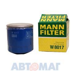 Фильтр масляный MANN W 8017