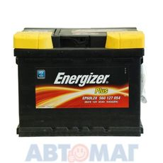 Аккумулятор ENERGIZER PLUS 560 127 054 60 А/ч 540 А
