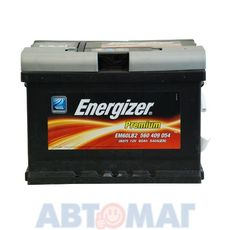 Аккумулятор ENERGIZER PREMIUM 560 409 054 60 А/ч 540 А