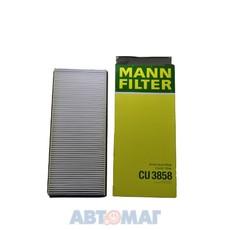 Фильтр салонный MANN CU 3858