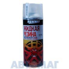 Жидкая резина, Многофункциональное резиновое покрытие цвет-прозрачный 450 мл (аэрозольный)