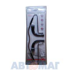 Вешалка а/м универсальная с пластик.крепл. (хром), AutoStandart