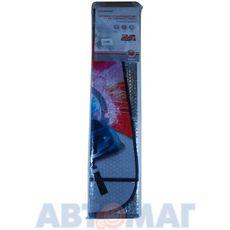 Шторка солнцезащитная на лобовое стекло (146х68см), рис. Гоночная трасса, AutoStandart
