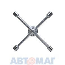 Ключ-крест баллонный, 17 х 19 х 21 х 22 мм, усиленный, толщина 16 мм// MATRIX PROFESSIONAL