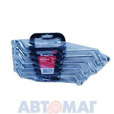 Набор ключей накидных, 6–17 мм, CR-V, 6 шт., полированный хром// MATRIX