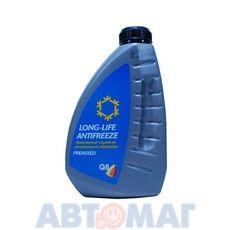 Антифриз готовый к применению Q8 Antifreeze Long-Life Premixed 1л оранжево-красный