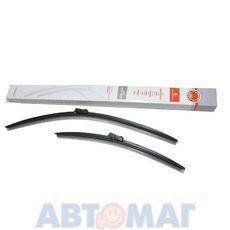 Комплект бескаркасных щеток стеклоочистителя AutoStandart 106418 600мм + 400мм