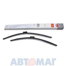 Комплект бескаркасных щеток стеклоочистителя AutoStandart 106422 600мм + 530мм