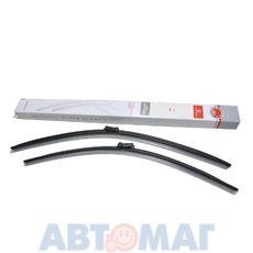 Комплект бескаркасных щеток стеклоочистителя AutoStandart 680мм + 625мм