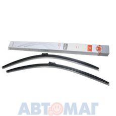 Комплект бескаркасных щеток стеклоочистителя AutoStandart 700мм + 700мм