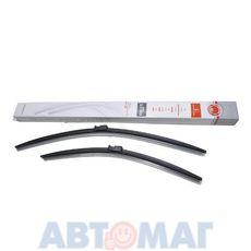 Комплект бескаркасных щеток стеклоочистителя AutoStandart 106433 600мм + 475мм