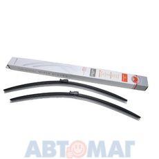 Комплект бескаркасных щеток стеклоочистителя AutoStandart 600мм + 600мм
