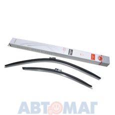 Комплект бескаркасных щеток стеклоочистителя AutoStandart 650мм + 450мм