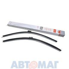 Комплект бескаркасных щеток стеклоочистителя AutoStandart 650мм + 650мм