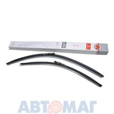 Комплект бескаркасных щеток стеклоочистителя AutoStandart 700мм + 550мм