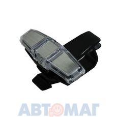 Держатель-клипса очков,ручек двойной (с вращением на 180гр) AutoStandart