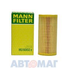 Фильтр масляный MANN HU 6002z