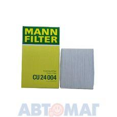Фильтр салонный MANN CU 24004