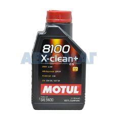 Масло моторное Motul 8100 X-Clean+ 5w30 1л синтетическое