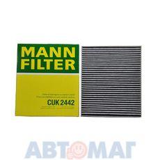 Фильтр салонный угольный MANN CUK 2442