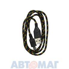 """Кабель-переходник """"USB-микро"""" (черный, 1м) CB010-UMU-10B WIIIX"""