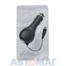 """Устройство зарядное универсальное """"2 в 1"""" с кабелем с микро-USB(1A) + USB(2A) (черный) CH-U2-4B WIIIX"""