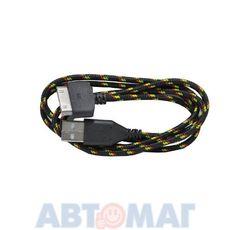 """Кабель-переходник """"USB-30pin"""" для iPhone4 (черный, 1м) CB010-U30-10BK WIIIX"""