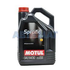 Масло моторное Motul Specific MB 229.52 5w30 5л синтетическое
