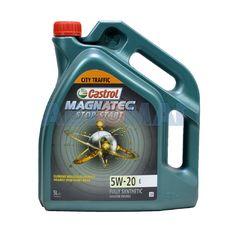 Масло моторное Castrol Magnatec Stop-Start E 5w20 5л синтетическое