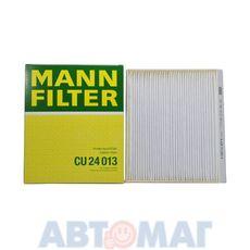 Фильтр салонный MANN CU 24 013