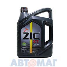 Масло моторное ZIC X7 DIESEL 10w40 6л синтетическое
