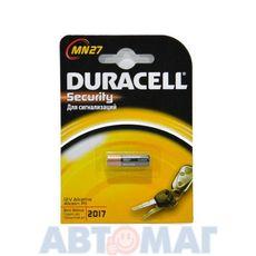 Эл-т питания Duracell MN27 12V BP1(в бл.1шт) (шт)
