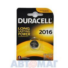 Эл-т питания Duracell DL2016 BP1(в бл.1шт) (шт)
