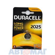 Эл-т питания Duracell DL2025 BP1(в бл.1шт) (шт)