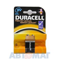 Эл-т питания Duracell 6LR61 BP1 (в бл.1шт)(шт)