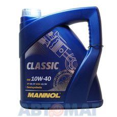 Масло моторное MANNOL Classic 10w40 4л полусинтетическое