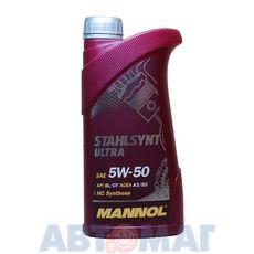 Масло моторное MANNOL Stahlsynt Ultra 5w50 1л синтетическое