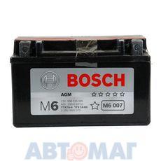 Аккумулятор мото BOSCH 506 015 005 AGM - 6 А/ч 50 А (151*88*94) YTX7A-BS