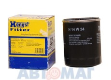 Фильтр масляный Hengst H14W24 (W 714/4)