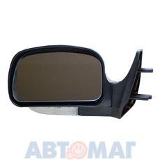 Зеркало ВАЗ 2108-099 ПОЛИТЕХ левое голубое с обогревом и поворотн.
