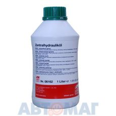 Жидкость гидравлическая минеральная FEBI 06162 зеленый, 1л