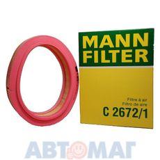 Фильтр воздушный MANN C 2672/1
